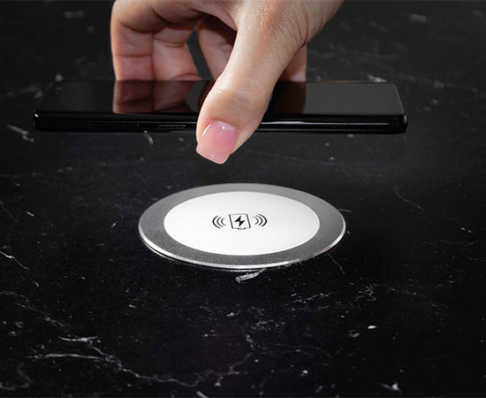 In-Table Wireless Charger